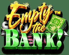 Empty the bank logo